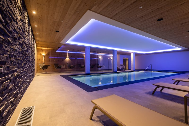 Area wellness e piscina